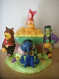 disney winnie the pooh u0026 friends halloween cookie jar cookie