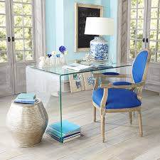 Small Glass Desks Small Space Solutions Sources For Clear Glass Acrylic Desks
