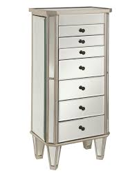 Jewelry Chest Armoire Furniture Wooden Sears Jewelry Armoire With Drawers And Mirror