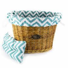 aqua blue chevrons basket liner beach u0026 dog co beach and dog co