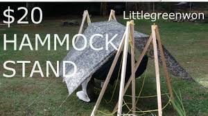 12 Foot Hammock Stand 20 Diy Hammock Stands Youtube