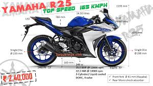 honda cbr 150r price and mileage yamaha r25 price top speed review images mileage torque max