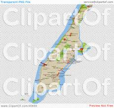 Manhattan Street Map Royalty Free Rf Clipart Illustration Of A Manhattan Street Map