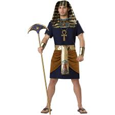 king tut costume for the mummification process demonstration