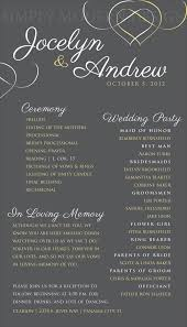 in memory of wedding program unique wedding memorial ideas in loving memory diys