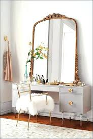 Small Makeup Desk Makeup Desk Mirror Size Of Small Vanity With Lighted