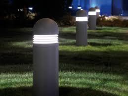 120v Landscape Lighting Fixtures by Home Bollard Lights 120v For Landscape Furniture Decor Trend