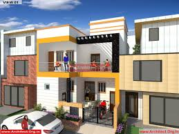 bungalow villa house duplex designs architect org in mr devendra pratap fr mr dharmendra chauhan udaipur rajasthan bungalow