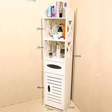 Narrow Bathroom Floor Cabinet by Toilet Side Shelf Bathroom Floor Cabinets Toilet Waterproof