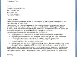business cover letter example business management cover letter