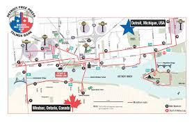 Map Of Boston Marathon Course by Race Report 2014 Detroit Marathon Kinetic Fix