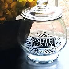 personalized cookie jars custom glass cookie jar custom personalized cookie jar custom made