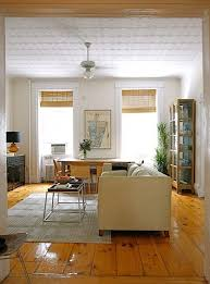 Wooden Blinds With Curtains Keep It Simple White Curtains And Natural Blinds Apartment Therapy