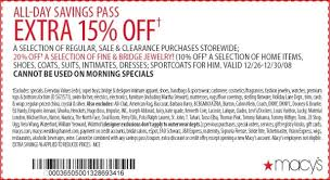 macy u0027s back to codes coupon codes blog