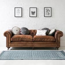 Chesterfield Sofa Brown Gorgeous Vintage Style Italian Leather Chesterfield Sofa