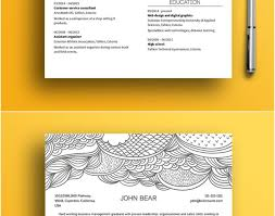 resume creative resume design beautiful free resume design