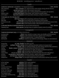 Vfx Jobs Resume by Resume U2014 Marksniffen