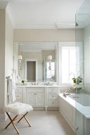 White And Gray Bathroom by Decorpad Decorating Renovating And Home Building