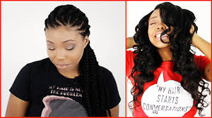 wearing weaves to grow out natural hair for protective hairstyles