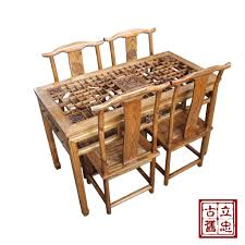 chinese dining table set in india 125 chinese antique wood dining