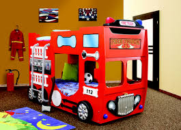 double fire truck bunk bed for children wholesale america s toys