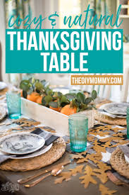 thanksgiving table topics questions cozy u0026 natural thanksgiving table setting the diy mommy