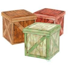 wood rustic ottomans u0026 storage ottomans for less overstock com