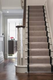 the upstairs downstairs connection picking the right stair treatment