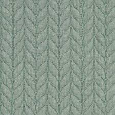 allen quilted green leaves azure fabric