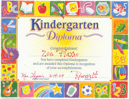 preschool graduation certificate award certificate template preschool best of kindergarten graduation