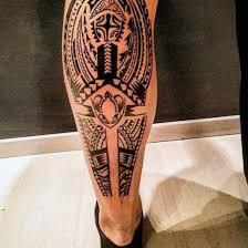tattoo tribal na perna masculina tatuagem tribal masculina significados preço e 90 ideias incríveis
