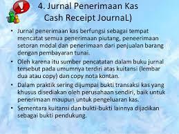 format buku jurnal penerimaan kas presentasi jurnal khusus