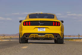 Mustang Yellow And Black 2015 Ford Mustang Gt First Test Motor Trend