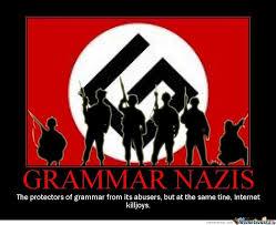 Grammer Nazi Meme - grammar nazi by sergei meme center