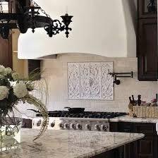 Tile Medallions For Kitchen Backsplash by Tile Medallion For The Backsplash Above The Stove I Love This