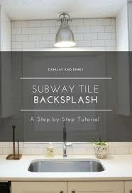 kitchen subway tile backsplashes subway tile backsplash step by step tutorial part one hometalk