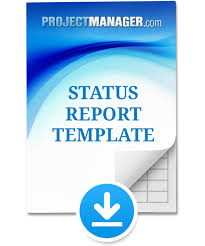 status report template projectmanager com