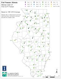 Weather Map Illinois by Illinois Frost Dates And Growing Season Illinois State