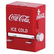 Novelty Toothpick Dispenser Coca Cola Soda Cooler Toothpick Dispenser Diner Tabletop