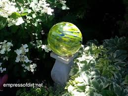 How To Make Decorative Balls Garden Ball Idea Gallery Empress Of Dirt