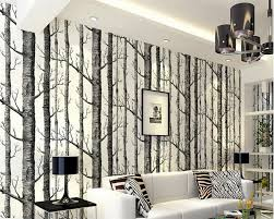 aliexpress com buy beibehang black and white branches wallpaper