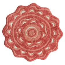 Coral Color Bathroom Rugs Spice Colored Bathroom Rug Wayfair
