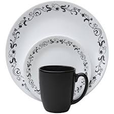 corelle livingware 16 dinnerware set country