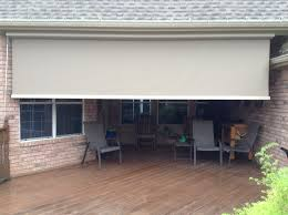 Drop Down Blinds Shade Works Of Texas Retractable Shades And Awnings