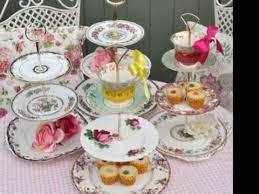 a vintage china afternoon tea
