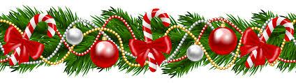 christmas garland christmas garland clipart happy holidays