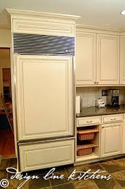 Kitchen Aid Cabinets Cabinet Flush Refrigerator Cabinet Depth Refrigerator
