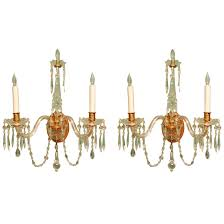 Crystal Wall Sconces by Sconce Waterford Chandelier Waterford Crystal Wall Sconces