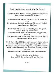 luck my for addictions poem addiction slot dean martin