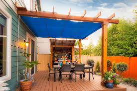 Deck Canopy Awning Toronto Outdoor Canopy Fabric Patio Traditional With Metal